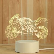 Đèn ngủ Mica led 3D hình Xe Máy fullbox đèn mica 3 màu trang trí cực đẹp – Venado
