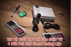Máy chơi game 4 nút Nes CoolBaby 620 game