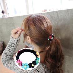 Dây buộc tóc hoa nhiều màu