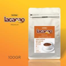 Cacao Sữa LACACAO PREMIUM 3in1 100g – The Kaffeine Bấm theo dõi shop nhận ngay voucher 10% không điều kiện