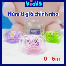 Ty Giả Chỉnh Nha Có Hộp Đựng Nuby 7005719 Cho Bé Từ 0 – 6 Tháng – Kidia