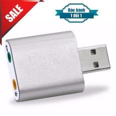 USB Sound USB âm thanh 7.1 hiệu ứng 3D vỏ nhôm cao cấp