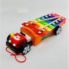 Đồ chơi Đàn gỗ kéo xe cho bé