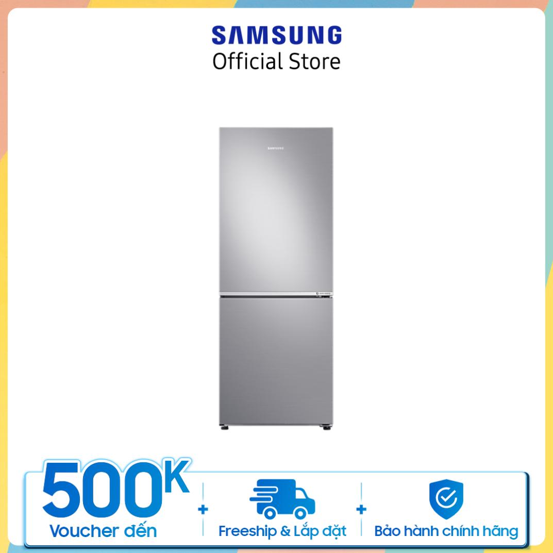 [Trả góp 0%]Tủ lạnh Samsung hai cửa Ngăn Đông Dưới 280L (RB27N4010S8/SV)