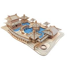 Đồ chơi lắp ráp 3D gỗ – mô hình vườn Tô Châu-315 mảnh ghép