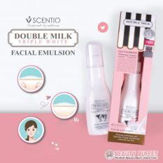 [Mua 1 Tặng 1] Sữa dưỡng trắng da mặt Beauty Buffet Scentio Double Milk Triple White Facial Emulsion chiết xuất từ sữa bò – mini size 5ml