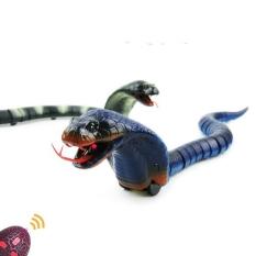 (GIÁ HUỶ DIỆT) Trò chơi mô phỏng con rắn kịch độc, di chuyển cực nhanh sử dụng sạc điện có đèn phát sáng, bé có thể chơi ở những nơi thiếu ánh sáng, hàng siêu bền dài 43cm, phù hợp cho bé trên 3 tuổi tặng kèm pin điều khiển