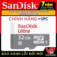 Thẻ nhớ Micro SD 64gb – 32gb – 16gb Sandisk bh 7 năm chính hãng