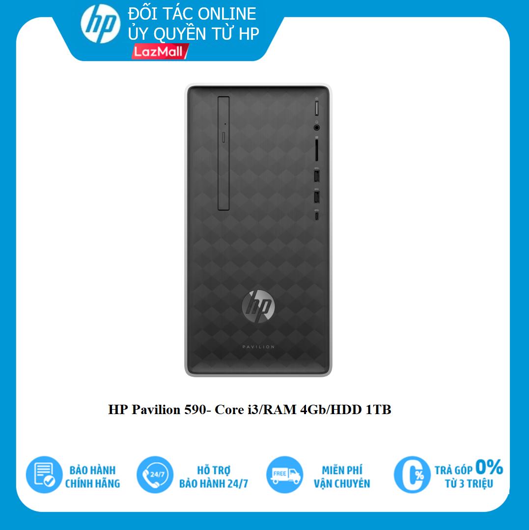 Máy tính để bàn HP Pavilion 590-P0117L-HP/Core i3/RAM 4Gb/1Tb HDD