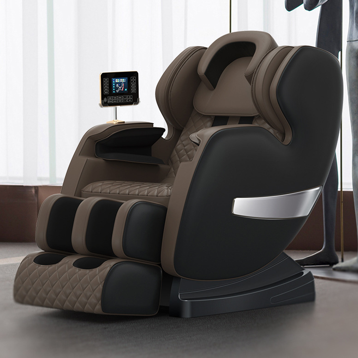 Ghế Massage toàn thân trục SL công nghệ Nhật Bản – Máy Massage cao cấp tự động điều chỉnh cơ thể