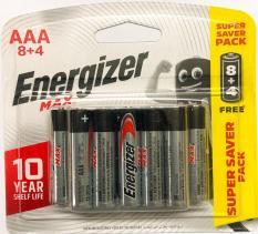 Pin Energizer Size AAA Vỉ 12 Viên