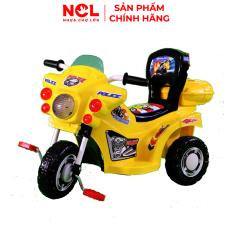 Xe 3 Bánh Trẻ Em Nhựa Chợ Lớn L9 Police K3 (Không nhạc) Dành Cho Bé Từ 2 – 3 Tuổi – M1671A-X3B