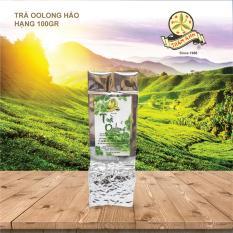 Trà Oolong Hảo Hạng TRÂM ANH- gói 100gr- Thoảng hương cốm, hậu vị ngọt dịu.