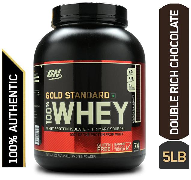 Thực phẩm bổ sung Optimum Nutrition Gold Standard 100% Whey 5lbs – 2.27kg