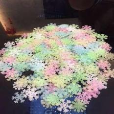Gói 50 bông tuyết dạ quang phát sáng trong đêm tối