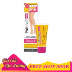 [ Chuẩn Thái ] Kem Thoa Suy Giãn Tĩnh Mạch PhiloSoft Legbeau Cream 25g Thái Lan