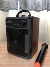 Loa Kéo Di Động Bluetooth Karaoke Thùng Gỗ Kiomic K59 Âm Chuẩn – Tặng Kèm 1