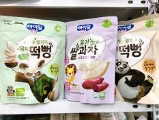 Bánh gạo hữu cơ cho bé ăn dặm ILDONG Hàn Quốc (date 2021)