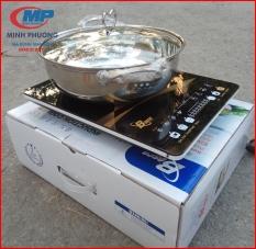 Bảo hành 12 tháng Bếp từ đơn cao cấp Bosco Global BC IH02D Korea Tặng nồi lẩu 30cm loại dày…