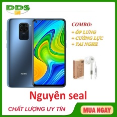 Combo điện thoại Xiaomi Redmi 10X 4/128Gb LTE + Ốp lưng + Cường lực + Tai nghe – Hàng nhập khẩu