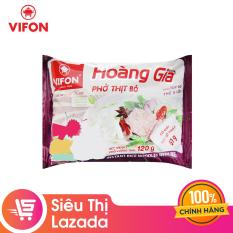 [Siêu thị Lazada]Phở thịt bò Hoàng Gia thùng 120g hương vị ẩm thực Việt, an toàn, tiện lợi cho mọi bữa ăn