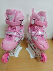Giày trượt Patin trẻ em màu hồng sen