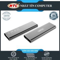 [HCM]Box ổ cứng SSD M2 NVMe Unitek S1201A chuẩn 3.1 hỗ trợ đến 5Gbps (Xám) – Nhất Tín Computer