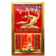 Lịch Treo Tường Melycop – Bộ Lịch Tết Treo Tường Phú Quý Ngọc Đường Bằng Đồng Vàng Đẹp và Sang Trọng