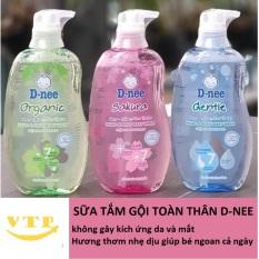 Tắm Gội Toàn Thân Dnee Pure 380ml Thái Lan