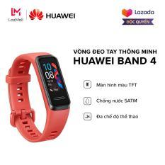 ĐỘC QUYỀN LAZADA| Vòng đeo tay thông minh Huawei Band 4 – Màn hình màu TFT – TruSleep 2.0 – Chống nước 5ATM – Đa chế độ thể thao – Hàng chính hãng
