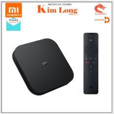 Android TV Box Xiaomi Mibox S 4K (3840 x 2160) CPU 4 nhân, RAM 2GB, Bộ nhớ 8GB Kết nối Wifi, Bluetooth 4.2 HDMI – Hàng chính hãng