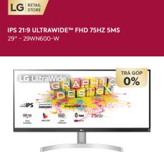 [TẶNG LOA XBOOM GO PL 2 1.290K – GOT IT 100K] Màn hình máy tính LG IPS 21:9 HDR UltraWide™ (2560×1080) 75Hz 5ms 29 inches l 29WN600-W   HÀNG CHÍNH HÃNG