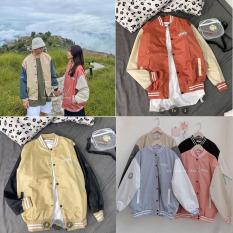 Áo Khoác Bomber Nữ Gios Form Rộng H&H CLOTHES – Áo Khoác Bomber Nữ Chất Liệu Nỉ Ép Không Xù Đủ Size Lựa Chọn -Áo Nữ Kèm Ảnh Thật