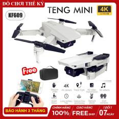 [Nhập ELMAR31 giảm 10% tối đa 200k đơn từ 99k][ KÈM TÚI ] Flycam mini KF609 máy bay điều khiển từ xa Camera 4K ảnh truyền trực tiếp về điện thoại tự động dữ độ cao