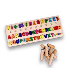 Bảng chữ cái cho bé, bảng chữ ghép vần lớp 1, bảng chữ cái in hoa tiếng việt gồm chứ cái abc, chữ số, hình khối cột tính bậc thang và ký tự đặc biệt.