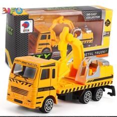 Xe máy cẩu hợp kim City Builder size nhỏ cho bé