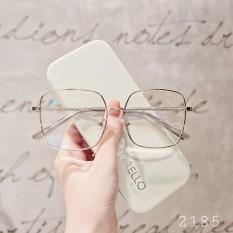 [Lấy mã giảm thêm 30%]ọng kính cận kim loại mắt tròn nam nữ nhiều màu sắc 2185 Lilyeyewear