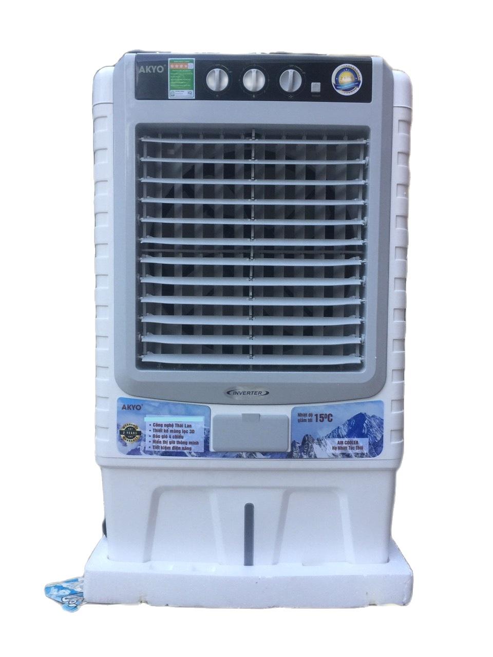 SIÊU HOT – SIÊU BỀN – Quạt điều hòa không khí AKYO AK80C made in thailand 200W lưu lượng gió 8000m3/h. BẢO HÀNH 02 NĂM