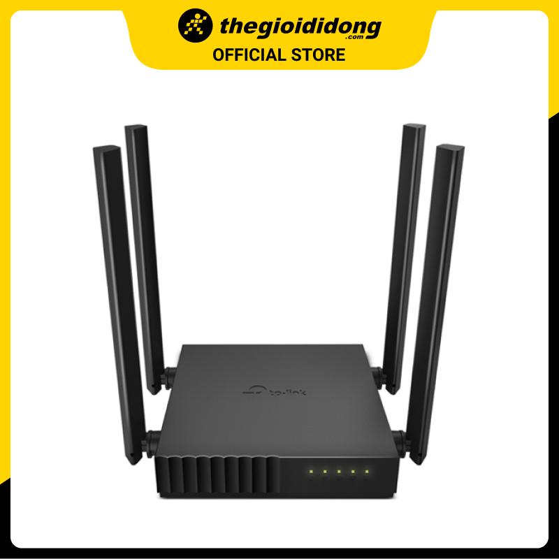 Bộ Phát Sóng Wifi Router Chuẩn AC1200 TP-Link Archer C54 Đen