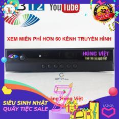 Đầu thu kỹ thuật số DVB T2 HÙNG VIỆT HD-789s kết nối được Youtube & IPTV