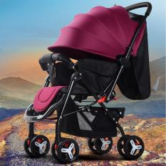 Xe đẩy cho bé, xe đẩy em bé, Xe đẩy em bé cao cấp Baby Smile, Xe đẩy trẻ em 2 chiều 3 tư thế đa năng, TẶNG NGAY BỘ ĐỒ CHƠI NÚM GỖ CHO BÉ CHỦ ĐỀ NGẪU NHIÊN, Xe đẩy du lịch, xe đẩy gấp gọn