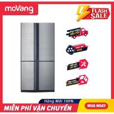 [TRẢ GÓP 0%] Tủ lạnh Sharp Inverter 626 lít SJ-FX631V-SL