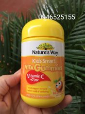 Kẹo Vitamin Nature 'Way Kids Smart không đường 60 viên