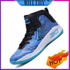 Whitby 2020 Giày Thể Thao Ngoài Trời Cho Nam, Giày Bóng Rổ Chống Trượt, Chống Mài Mòn Size Lớn Năm