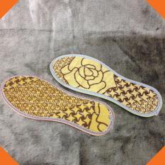 Bộ 3 đôi Lót giày hương quế cho nam nữ hương thơm êm ái chống hôi chân