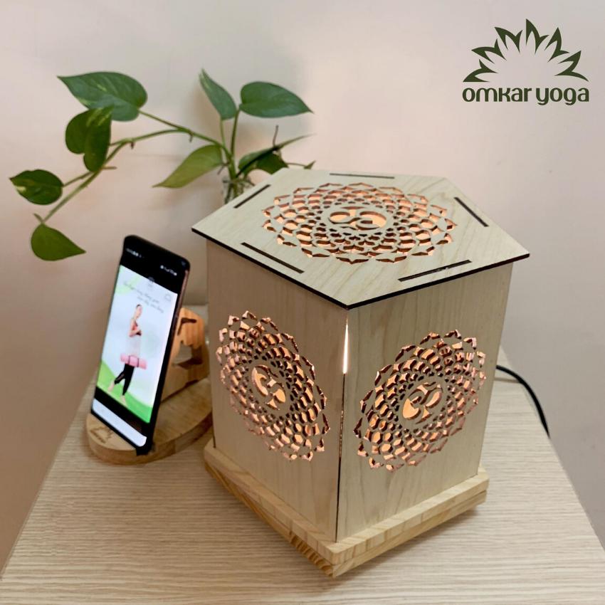 Omkar Yoga – Đèn Trang Trí Mandala/ Đèn trang trí/ Trang trí phòng tập Ygoa/ Trang trí nhà cửa/ Decor Yoga