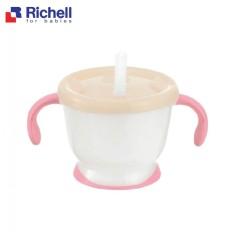 Cốc Tập Uống 3 Giai Đoạn Richell RC22010 Cho Bé- Hàng Chính Hãng- Chất Liệu An Toàn Cho Bé