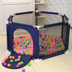 Lều Bóng khung thép không gỉ chắc chắn tặng kèm 10 bóng, thiết kế siêu an toàn chắc chắn giành cho bé vui chơi mỗi ngày