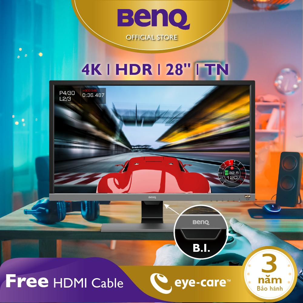 [HOT] Màn hình máy tính BenQ EL2870U 28 inch 4K HDR 1ms Eye-Care chuyên Gaming, Giải trí PS4, PS4 Pro, Xem phim