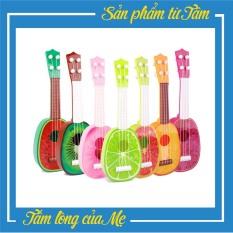 Đàn Guitar Mini Trái Cây Giúp Bé Cảm Thụ Âm Nhạc